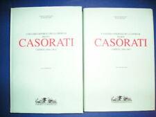 Catalogo generale opere FELICE CASORATI 2 volumi Umberto Allemandi 1995 dipinti
