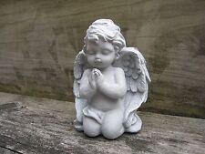 Angel Statue, Small Praying Angel, Angel Figure, Concrete Garden Angel, Angels
