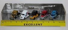 Jada Road Rigz 5 Pack Kenworth T2000 Peterbilt 379 Semi Tractors 1:100 Scale