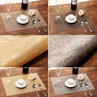 Set of 6 Table Mats Insulation Bowl High-grade Dining Room Kitchen Placemats Pad