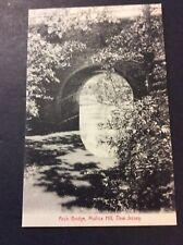 ARCH BRIDGE,  Mullica Hill, New Jersey Postcard  Circa 1910