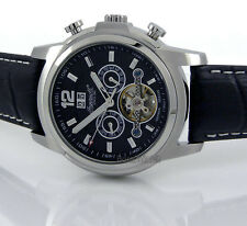 INGERSOLL MEN GERMAN DESIGN MECHANICAL AUTOMATIC FIRHAND 48mm LEATHER IN1822BK