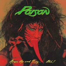 POISON - OPEN UP AND SAY...AHH! (LIMITED RED VINYL EDITION .)   VINYL LP NEUF