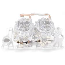 Edelbrock 7094 Dual Quad Chevy & Ford Intake Manifold Carburetor Linkage Kit