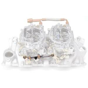 Edelbrock 7094 Dual Quad Chevy & Ford Intake Manifold Carburetor Linkage Kit