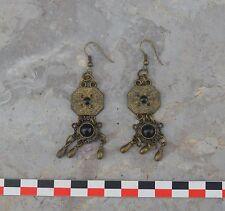 Boucles d'oreilles, copie de bijoux du Moyen Age, époque mérovingienne
