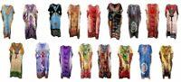New Long Kaftan dress Hippy Boho Maxi,One Size Plus Women Caftan Top Dress Gown