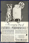1934 General Electric advertisement, early MONITOR-TOP refrigerator photo