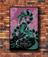 Art Beetlejuice Movie Thriller Horror Film -20x30 24x36in Poster - Hot Gift C335