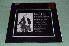 Franz Liszt~Phantasie und Fuge, Variationen~Hans Fagius~IMPORT~FAST SHIPPING