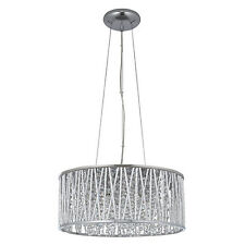 John Lewis Emilia Drum Crystal Pendant Light