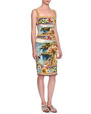 Dolce & Gabbana Sorrento Sleeveless Ruched Tank Dress, Original:$2395 46/12