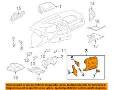 Pontiac GM OEM 02-05 Grand Am Instrument Panel Dash-Accessory Bezel 22675069