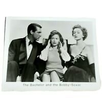 Cary Grant Shirley Temple Myrna Loy Bachelor and the Bobby-Soxer 8X10 Print