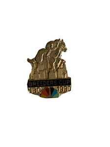 1990 Breeders Cup NBC press pin by Balfour rare limited edition