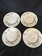 """HANOVER CHINA """"CORONATION"""" PLATES 8"""" ROUND (4 PLATES) Excellent"""