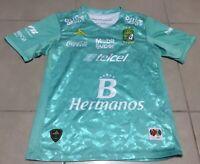 Men's 2016 Pirma Leon FC soccer Sz S futbol jersey Guanajuato green liga mx