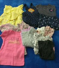 Baby girl clothes 3-6 months lot summer - 9pc