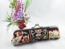 Vera Bradley Kisslock Slim Case Coin Glasses Retired Versailles Floral **