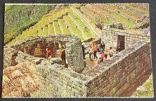 Postcard, Torreon de Machupicchu, Cuzco, Peru