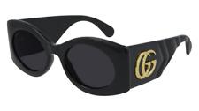 Neues AngebotGucci Sonnenbrille GG0810S  001 Schwarz - Grau - Frau