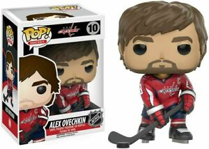 ALEXANDER OVECHKIN WASHINGTON CAPITALS NHL FUNKO POP! VINYL FIGURE #10 NEW BOX