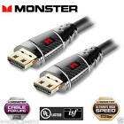 Monster Black Platinum Ultra HD High Speed 35ft HDMI Cable 050644743825 4k 2160p