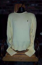 Lot of 2 Polo Ralph Lauren Men's Sweaters Size XL Yellow, Green