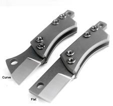 Mini D2 steel folding knife EDC camping survival pocket knife key chain tool