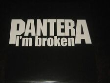 Pantera rare '98 HOLLAND ONLY LP I'm Broken mint- live in eindhoven groove metal