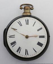 Keywind Pair Case Philadelphia Interest William Hollison 1840s Chain Drive