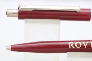 Vintage (c1990) Senator Burgundy Ballpoint Pen, Advertising Rover Cars.