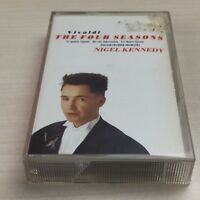 Nigel Kennedy, Vivaldi The Four Seasons - Cassette Tape, Violin, Classical