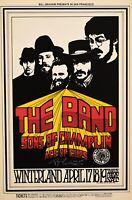 The Band BG169 Handbill Postcard 1969 Signed Randy Tuten
