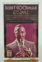 """VINTAGE Benny Goodman """"Lets Dance"""" Cassette Tape Capitol Records  # 4XL-9090"""