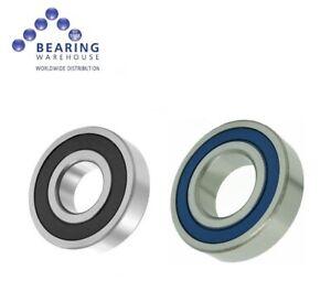 6903/61903 2RS 2DU Sealed Bearings - Chrome, Stainless & Hybrid Ceramic