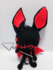 Devil Voodoo Keychain Key Ring  String Doll Toy Handmade Handcraft Spirit
