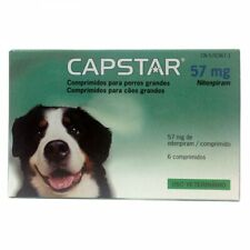 Capstar¹Flea Treatments cats and dogs 57mg from 26 to 125 lb (12 -57 kg)