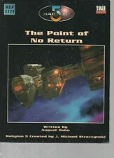 The Point of No Return - Babylon 5 The Roleplaying Game - Mongoose Publishing.
