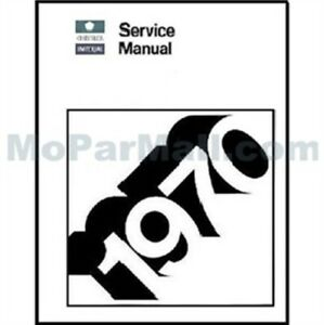 Factory Shop - Service Manual for 1970 Chrysler & Imperial