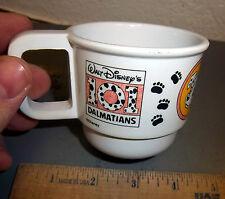 101 Dalmations Plastic Disney cup, kibouki, genin trudeau, fun collectible