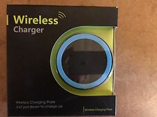 iPhone 8 Qi Wireless Charger Charging Power Pad Black & Blue