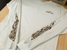 Orange County Choppers Mens Beige Long Sleeved T-Shirt XL 40in Chest New