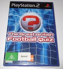 PS2 - THE GREAT BRITISH FOOTBALL QUIZ (Sony PlayStation 2) - new, sealed