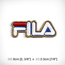 new FILA EMBROIDERED PATCH IRON ON or SEW, Sportswear