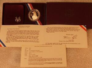 1983-S US Mint LOS ANGELES OLYMPICS ~ SILVER DOLLAR PROOF