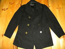 1970's Men's Navy Pea Coat Men's Size 38 R all original (used)
