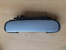 Audi A6 98-04 DOOR HANDLE RIGHT REAR IN SILVER LY7W - 4B0839206