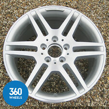 "1 x GENUINE MERCEDES 17"" AMG IV C CLASS W204 S204 REAR ALLOY WHEEL A2044014602"