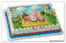 DORA Explorer Diego Cake Party Birthday Supplies Decoration Cupcake Kit Boots NW